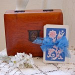 Vintage Card Box and Playing Deck
